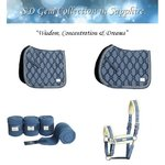 SD Design GEM Collection Fleece Bandagen Set Sapphire oder Onyx Limited Edition